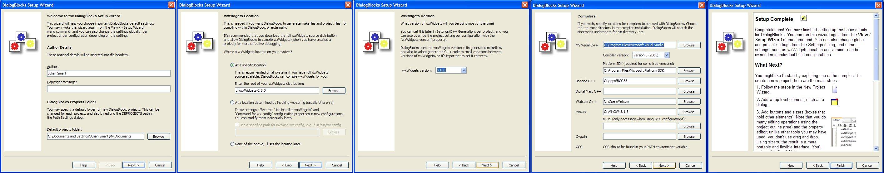 DialogBlocks Screenshots